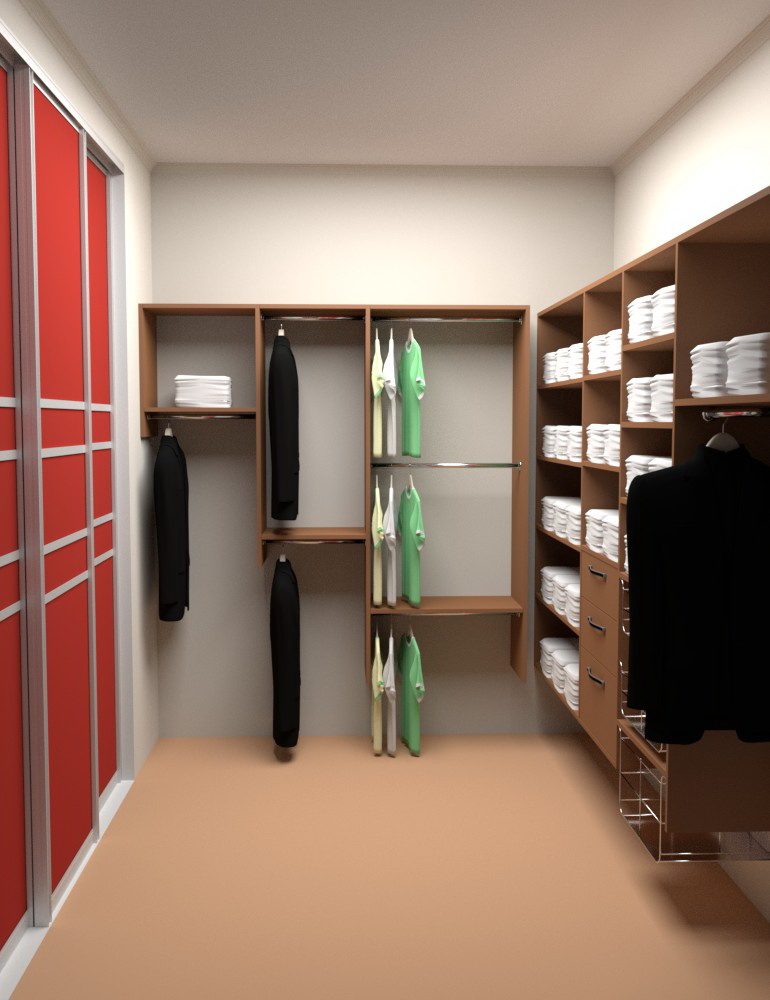 3d closet design. Online 3D closet planner for Home   Design the walk in of your