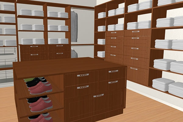 Walk In Closet Wardrobe