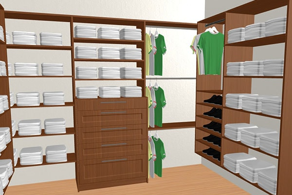 Superbe Click Here To Redesighn This Walk In Closet In 3D Mode